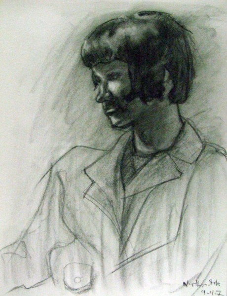Charcoal_Female_Portrait