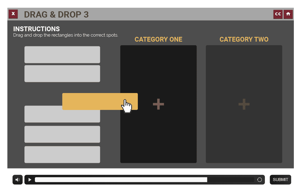 fraudSlides_Drag & Drop Generic Categories