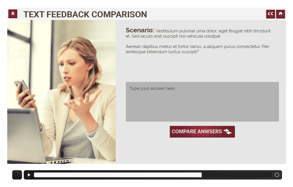 fraudSlides_Text feedback Comparison_Text feedback Comparison
